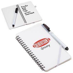 Write + Wipe Erasable Jotter Notebook